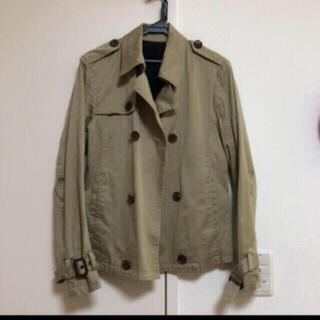 シェラック(SHELLAC)のシェラック ショート丈 トレンチジャケット(トレンチコート)