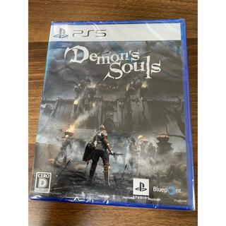 プレイステーション(PlayStation)のDemon's Souls PS5 未開封品(家庭用ゲームソフト)