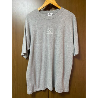 カルバンクライン(Calvin Klein)の90s カルバンクライン 刺繍ロゴ Tシャツ M(Tシャツ/カットソー(半袖/袖なし))