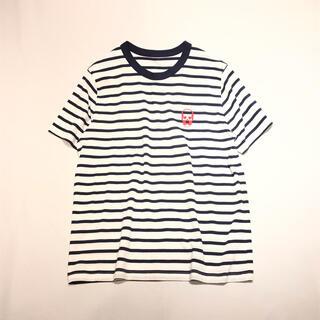 ルシアンペラフィネ(Lucien pellat-finet)の新品 ルシアンペラフィネ セーラー ボーダー Tシャツ ホワイト S(Tシャツ/カットソー(半袖/袖なし))