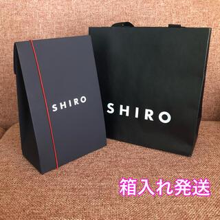 シロ(shiro)のSHIRO * ショップ袋 ギフトボックス セット(ショップ袋)