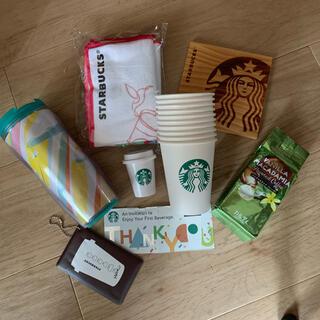 スターバックスコーヒー(Starbucks Coffee)のスターバックス 福袋 板は非売品 全て新品です!(ノベルティグッズ)