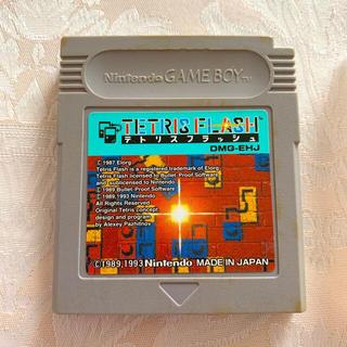 ゲームボーイ(ゲームボーイ)のゲームボーイ テトリスフラッシュ(携帯用ゲームソフト)