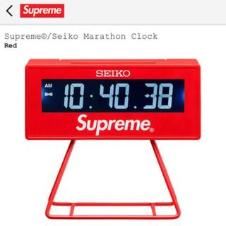 シュプリーム(Supreme)のsupreme seiko Marathon Clock (置時計)