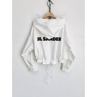 Jil Sander バックロゴ オーバーサイズ レインジャケット(トレンチコート)