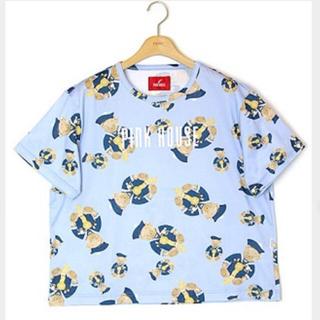 PINK HOUSE - ピンクハウス くま総柄Tシャツ セーラークマ
