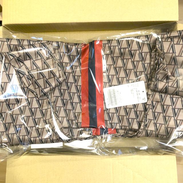 IENA(イエナ)の新品♦︎ VERMEIL par iena VERMEIL モノグラムエコバッグ レディースのバッグ(エコバッグ)の商品写真