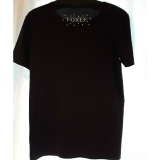 FOXEY - フォクシー 新品未使用 カットソー Tシャツ トップス 38