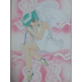 手描きイラスト 魔法の天使クリィミーマミ 森沢優ちゃん(アート/写真)