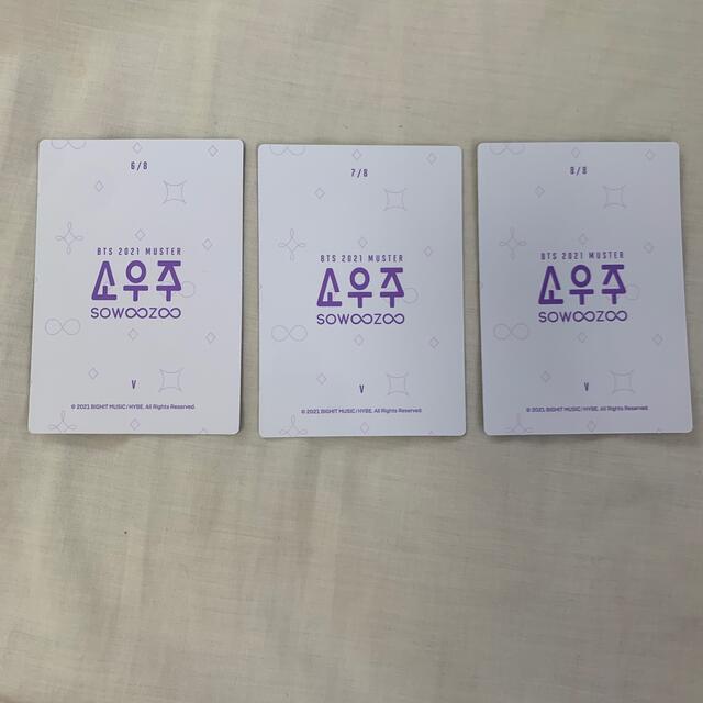 防弾少年団(BTS)(ボウダンショウネンダン)のbts 2021 muster sowoozoo v テヒョン エンタメ/ホビーのタレントグッズ(アイドルグッズ)の商品写真