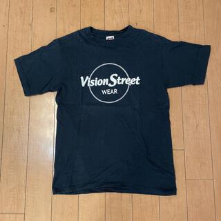 パウエル(POWELL)の超希少 90s ビンテージ USA製 vision オールドスケート Tシャツ(Tシャツ/カットソー(半袖/袖なし))