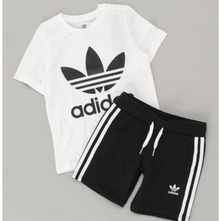 adidas -  Tシャツ アディカラー ショーツ&Tシャツ セットアップ /130cm