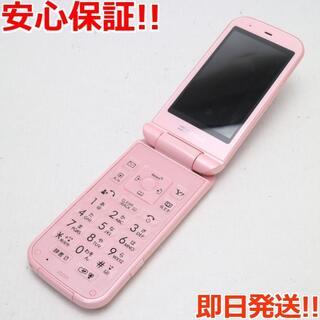 シャープ(SHARP)の美品 判定○ 202SH PANTONE ライトピンク (携帯電話本体)