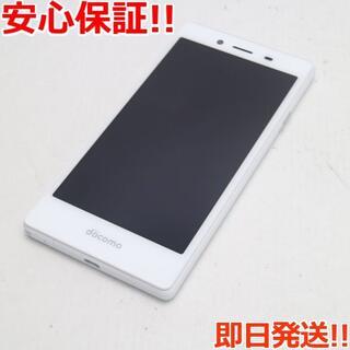 アンドロイド(ANDROID)の新品同様 MO-01J MONO ホワイト (スマートフォン本体)