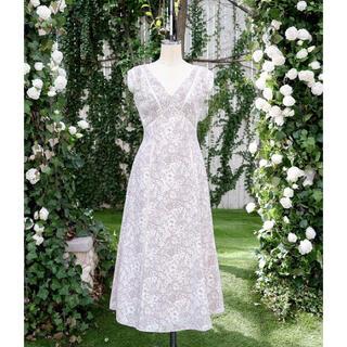 Herlipto☆Lace Trimmed Floral Dress【新色】