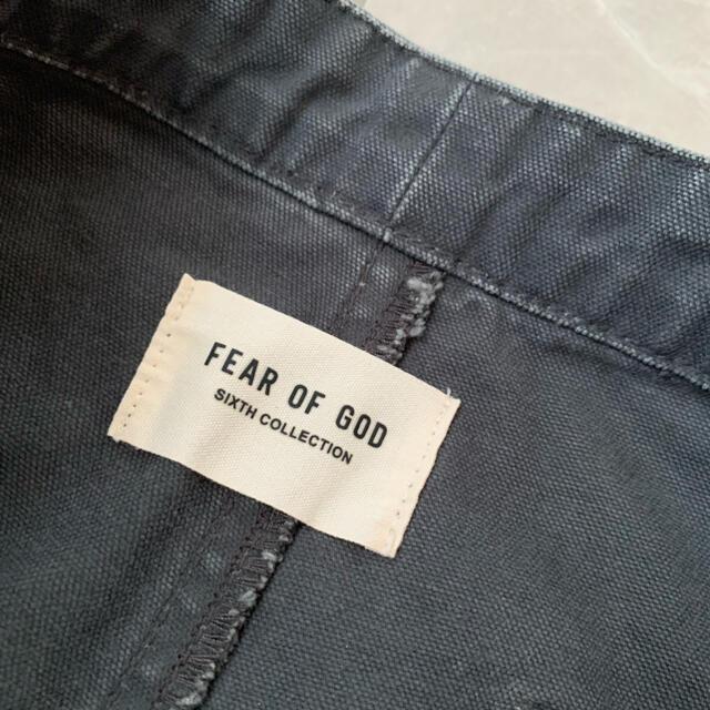 FEAR OF GOD(フィアオブゴッド)の<最終値下げ>【新品】Fear of God  WORK PANT メンズのパンツ(ワークパンツ/カーゴパンツ)の商品写真