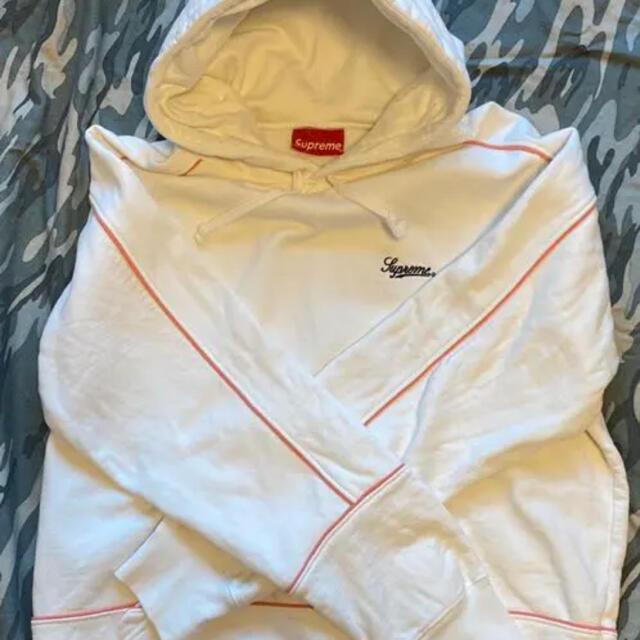 Supreme(シュプリーム)のSupreme Piping Hooded Sweatshirt 2018SS メンズのトップス(パーカー)の商品写真