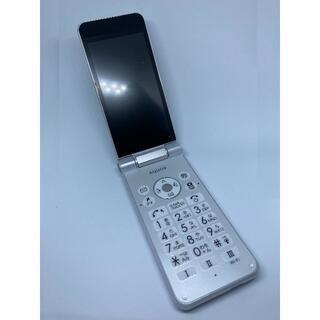 ソフトバンク(Softbank)のソフトバンク SoftBank AQUOSケーター2/ホワイト(WH) ガラケー(携帯電話本体)