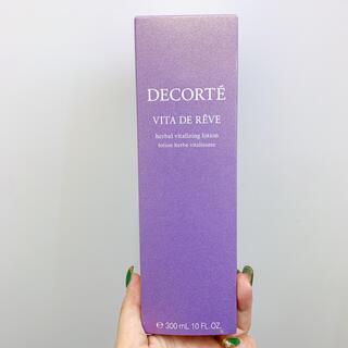 コスメデコルテ(COSME DECORTE)の【新品】コスメデコルテ ヴィタドレーブ美容液(300ml) (化粧水/ローション)