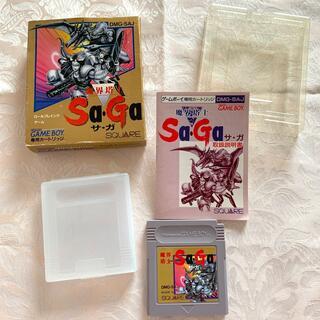 ゲームボーイ(ゲームボーイ)のゲームボーイ 魔界塔士Sa・Ga(携帯用ゲームソフト)