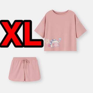 ジーユー(GU)の新品 ジーユー カーヴィ ラウンジセット XL(ルームウェア)