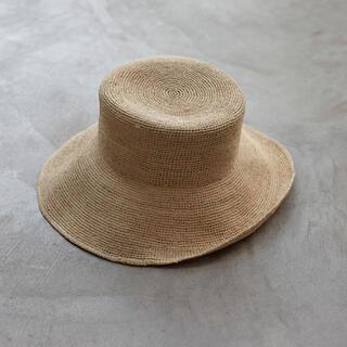 ルームサンマルロクコンテンポラリー(room306 CONTEMPORARY)のroom306contemporary Braid Raffia Hat (麦わら帽子/ストローハット)
