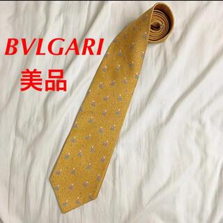 BVLGARI - 【美品】BVLGARI ネクタイ パターン柄