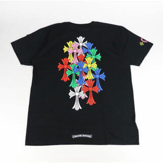 クロムハーツ(Chrome Hearts)のchrome hearts クロムハーツ マルチカラー Tシャツ クロス 新品(Tシャツ/カットソー(半袖/袖なし))