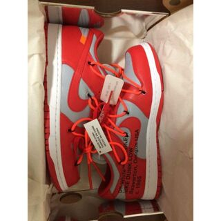 Nike Dunk Low Off-White University Red(スニーカー)