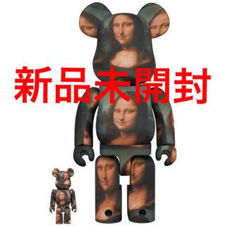 メディコムトイ(MEDICOM TOY)のBE@RBRICK Mona Lisa 100% & 400% 新品未開封(その他)