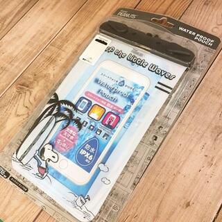 スヌーピー(SNOOPY)のスヌーピー スマホケース 防水ケース 防水ポーチ SNG220A(iPhoneケース)