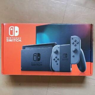 Nintendo Switch - 美品 Switch本体 ニンテンドースイッチ グレー/グレー ニンテンドウ