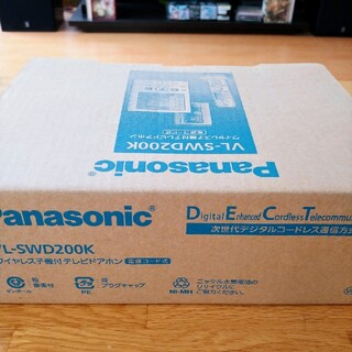 Panasonic - パナソニック 【VL−SWD200K】ワイヤレス子機付テレビドアホンインターホン
