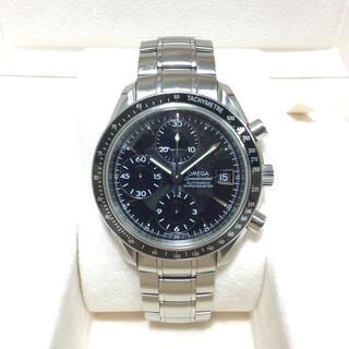 OMEGA - 正規品 オメガ スピードマスター デイト メンズ 腕時計 自動巻き クロノグラフ