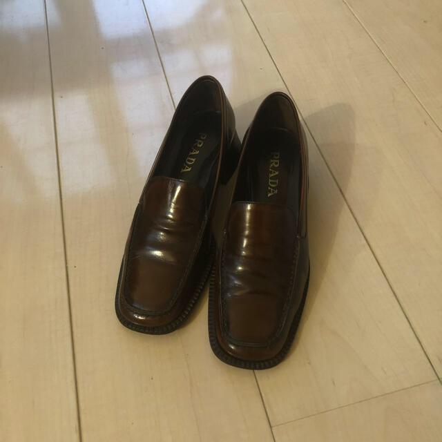 PRADA(プラダ)のPRADA ローファー vintage メンズの靴/シューズ(ドレス/ビジネス)の商品写真
