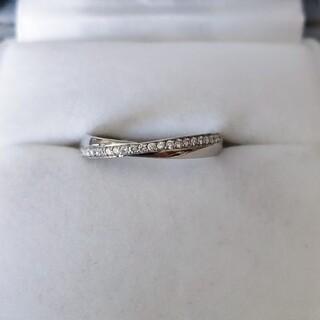 ヨンドシー(4℃)の4℃ ダイヤモンド リング Pt950 4.7g(リング(指輪))