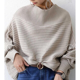 antiqua - ◆アンティカ ドルマン長袖セーター ベージュ(同梱¥900)