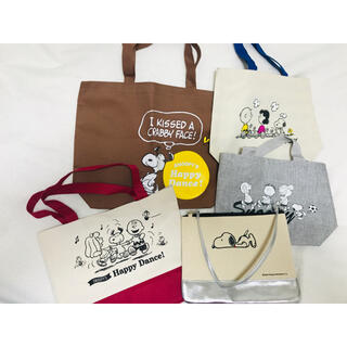 SNOOPY - SNOOPY バック5点セット❣️
