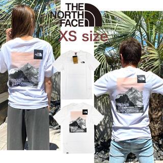 THE NORTH FACE - ノースフェイス Tシャツ 半袖 ポスタカード NF0A7R43 ホワイト XS