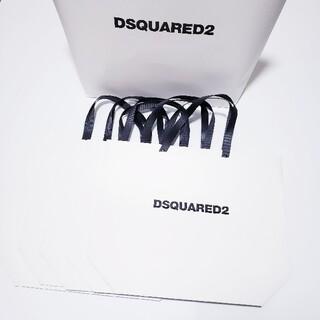ディースクエアード(DSQUARED2)のDSQUARED2 ディースクエアード ショップ袋 ショッパー 6点セット(ショップ袋)
