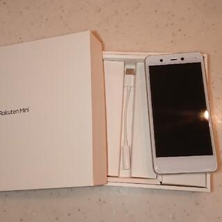 Rakuten - 楽天モバイル mini C330 ホワイト美品