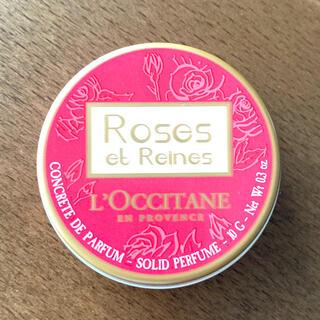 L'OCCITANE - 【新品】ロクシタン ソリッドパフューム 練り香水 ローズ