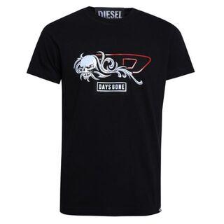ディーゼル(DIESEL)の【新品/未使用】 DIESEL ディーゼル Tシャツ ブラック Mサイズ(Tシャツ/カットソー(半袖/袖なし))