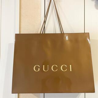 グッチ(Gucci)のGUCCI ショッパーGOLD(ショップ袋)