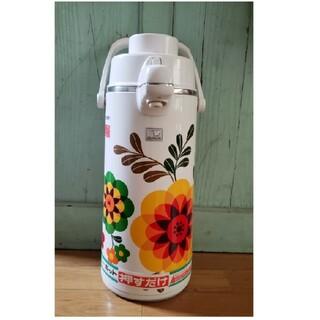 ゾウジルシ(象印)の昭和レトロ ZOJIRUSHI 象印 魔法瓶 ポット 新品(調理道具/製菓道具)
