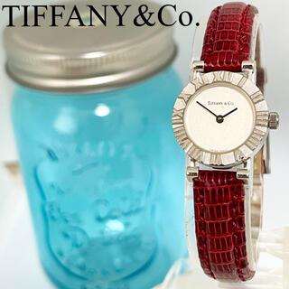 Tiffany & Co. - 105 ティファニー時計 レディース腕時計 アトラス アンティーク レッド 人気