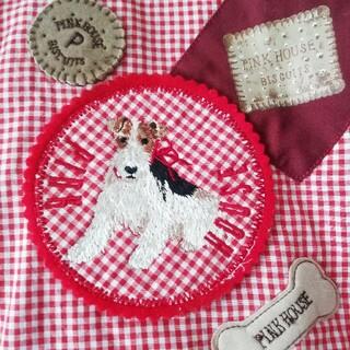 PINK HOUSE - PINK HOUSE 犬とお菓子のシャツ