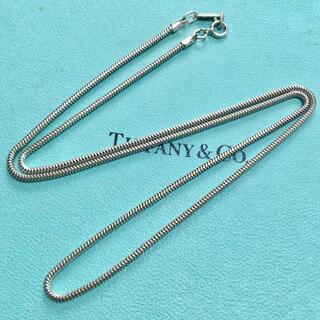 Tiffany & Co. - ティファニー スネークチェーン ネックレス ペンダント チェーン Tiffany