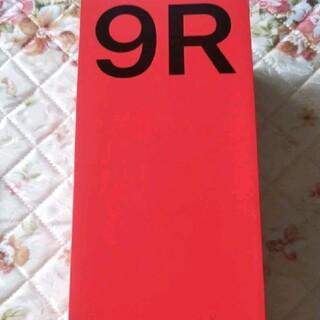 アンドロイド(ANDROID)のOnePlus 9R 12+256G ブラック(スマートフォン本体)