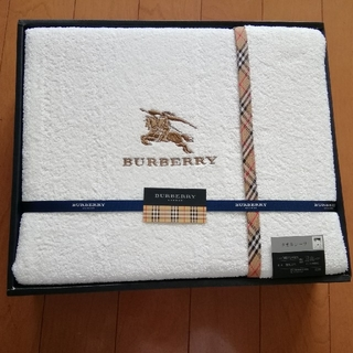 BURBERRY - BURBERRY タオルシーツ
